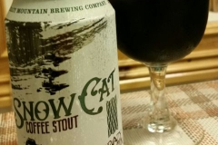 Snow Cat Kaffe stout från West Mountain Brewing Company