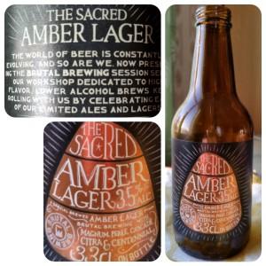 Sacred Amber Lager