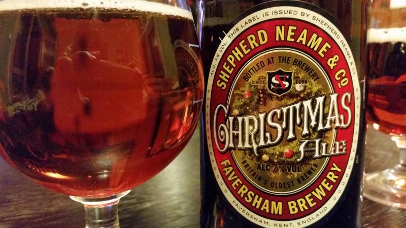 Shepherd Neame Brewery - Christmas Ale